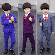 2019 Children's Dress Suits Boy Child Wedding Formal Party Suit