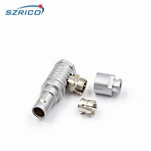 Image 4 - M12 FHG.1B.307.CLAD62Z 7 Spille Gomito Spina Maschio Cavo Elettronico Connettore Automotive