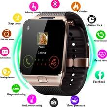 Montre intelligente DZ09 horloge intelligente soutien TF SIM caméra hommes femmes Sport Bluetooth montre bracelet pour Samsung Huawei Xiaomi téléphone Android