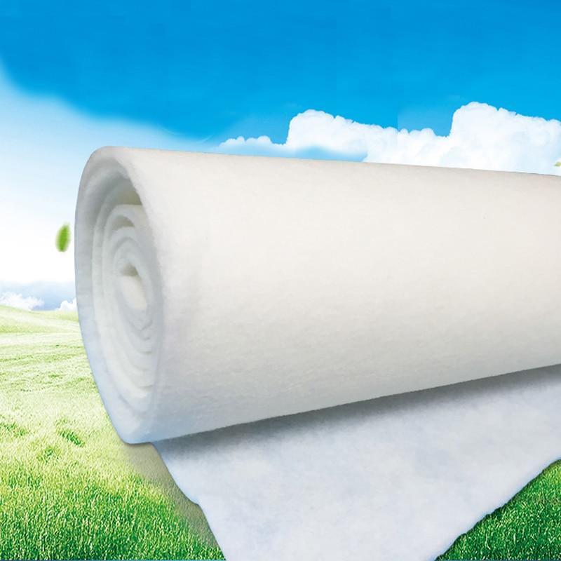Multi-purpose Air Filter Cloth Filter Cotton Healthy Non-toxic 100cm*90cm/180cm/400cm*5mm Air Vent Grille Many Size PET/PP X-005