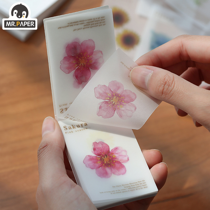 Mr.paper 5pcs/box Galaxy Fruit Sulfate Paper Card Scrapbooking/Card Making/Journaling Project DIY Retro Hangtag with Hole Cards 6