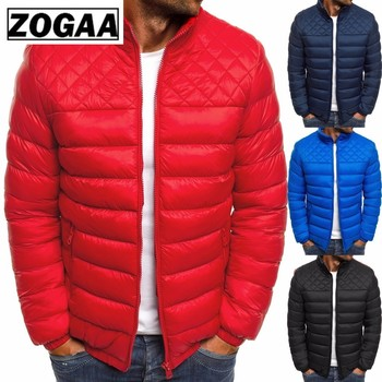 Winter Men's Parkas 2019 Light Weight Warm Coats Casual Stand Collar Outwear Male Parka Jacket Mens Solid Thick Jackets and Coat цена 2017