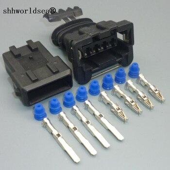 Shhworldsea 4 pines 3,5mm 282192-1 coche Junior alimentación temporizador enchufe automotriz Sensor de oxígeno conector bobina de encendido macho