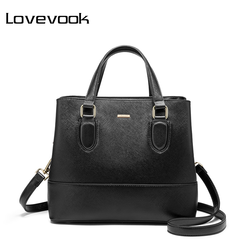 LOVEVOOK Women Handbag Female Shoulder Crossbody Bag School Big Messenger Bag Purses And Handbags For Women 2019 Office Work