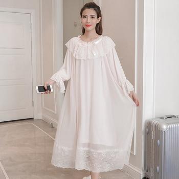 Princess Maternity White Night Dress 1