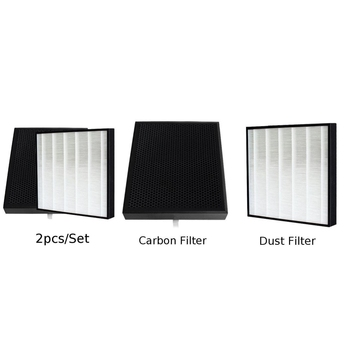 Activated Carbon Filter Fitting For Sharp FU-A28E-W FZ-Y28FE Air Purifier Parts