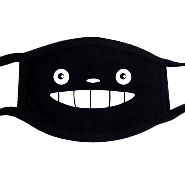 Cartoon Funny Face Mask Dragon Ball Face Masks Japan Anime Washable Unisex Mouth Muffle Mask Dust Proof  Winter Warm Masks 2