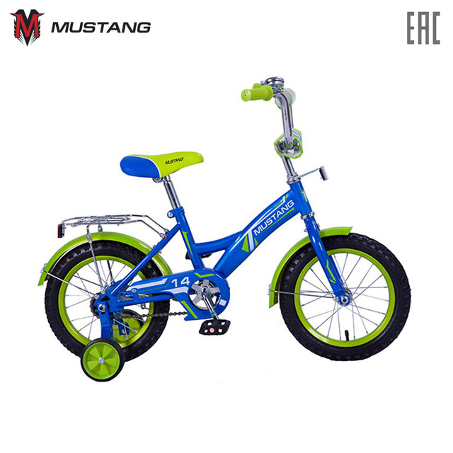 """Велосипед MUSTANG детский """"14"""", доставка от 2-х дней"""