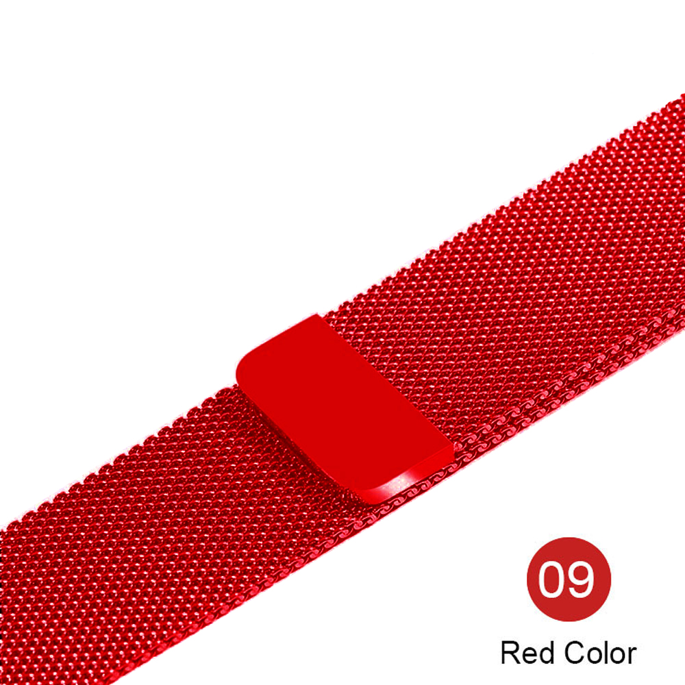 Milanese Loop For Apple Watch band strap 42mm/38mm iwatch 5/4/3/2/1Stainless Steel Link Bracelet wrist watchband