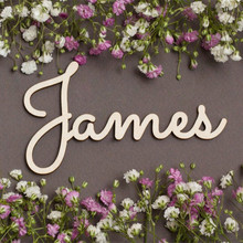 Acrylic Custom Baby Name Sign Rose Gold Mirror Silver Nursery Wall Name Sign Personalized Wedding Party Wood Name Sign