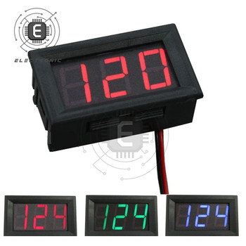 0.56 Digital Voltmeter DC 5V-120V Digital Voltmeter Voltage Panel Meter Detector For 12V 24V 96V Electromobile Motorcycle Car image