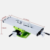 Precision Mini Table Bench Vise Drill Multi function Compound Table Cross Slide for Milling Drilling Machine Adjustable Tool