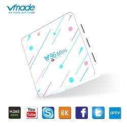Google TV Box Android 9,0 WIFI 2,4 & 5G Allwinner H6 Smart tv box Поддержка YouTube netflix 4G 128G 6K mini Media Player set top box