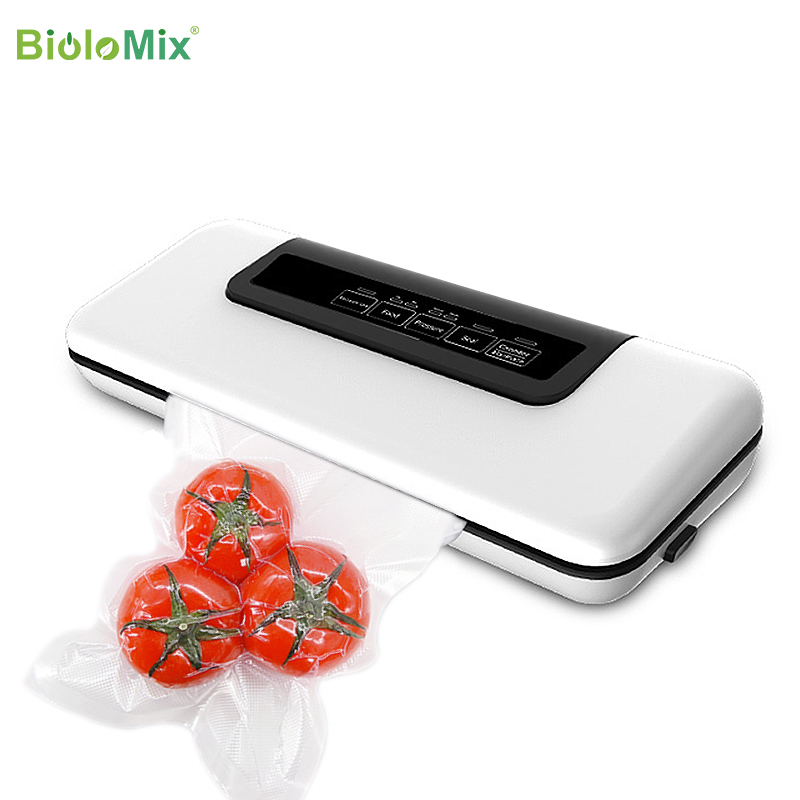 Automatic Vacuum Sealer Packer Vacuum Air Sealing Packing Machine For Food Preservation Dry, Wet, Soft Food With Free 10pcs Bags