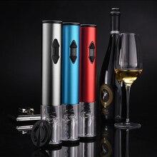 Electric Bottle Opener Automatic  Corkscrew Wireless Kitchen Convenient Tools Aluminum Alloy Foil Cutter Wine