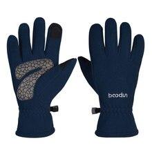 Зимние термальные лыжные перчатки для катания на лыжах wo мужские флисовые перчатки для катания на сноуборде с сенсорным экраном Водонепроницаемые зимние мотоциклетные перчатки для катания на лыжах