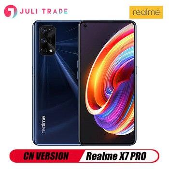 Перейти на Алиэкспресс и купить Смартфон Realme X7 PRO 5G, версия CN, Поддержка Google Play, OTA, многоязычная, Android, тройная камера