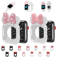 Watch-Cover-Case Tpu-Cases Protect Apple Watch 40MM 44MM MI for 4-5/3/2-/.. NI