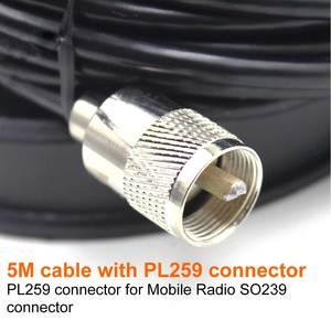 Image 2 - Магнитный фидерный кабель, диаметр 12 см, 5 м, PL259, магнитное крепление для автомобильной антенны, основание для автомобильного радиоприемника, для автомобиля, для радио, для автомобиля, с магнитом, для автомобиля, 5 м, KT8900, 1, 5 м, 1, 5 м, 1, 5 м, 1, 1, 1, 5 м, 1, 5 м, 5 м, 5