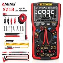 ANENG SZ18 Digital Multimeter 9999 Professionelle True RMS Analog Tester Multimetro DIY Transistor Kondensator NCV Tester Lcr Meter