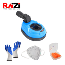 Raizi Universal Rotary Hammer Drilling Dust Shroud Kit For Dust Collection Dust Extraction Attachment