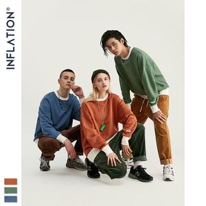 Image 4 - インフレ 2020 デザイン特大男性のプルオーバー綿 100% メンズシャツ刺繍ロゴ男性トレーナー 9604