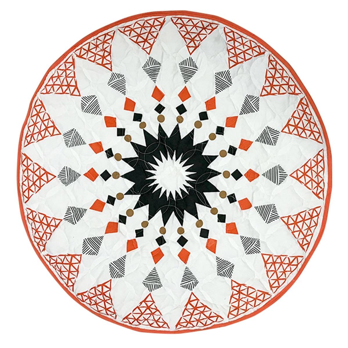New Geometric Lozenge Pattern Baby Crawling Mat Children's Room Decoration Play Mat Moroccan Style Baby Mat
