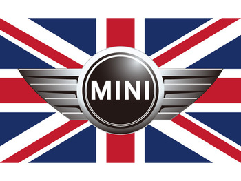 90x150cm 60x90cm Mini Flag For Car Show Polyster BMW Mini Banner 3x5ft Polyester image