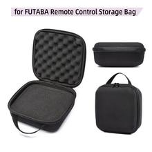 العالمي RC الارسال حامي البعيد تحكم حقيبة يد صندوق حقيبة حقيبة التخزين ل AT9 SAT10 Wfly 7 9 FUTABA أجزاء الملحقات