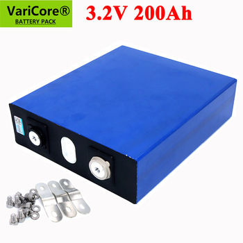 VariCore 3.2V 200Ah LiFePO4 lithium battery 3.2v 3C Lithium iron phosphate battery for 12V 24V battery inverter vehicle RV image