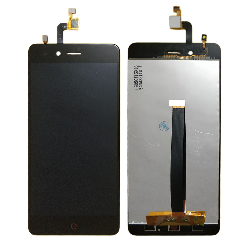 Black NX529J and Digitizer Full Assembly Color : Black LCD Screen Mobile Phone for ZTE Nubia Z11 Mini