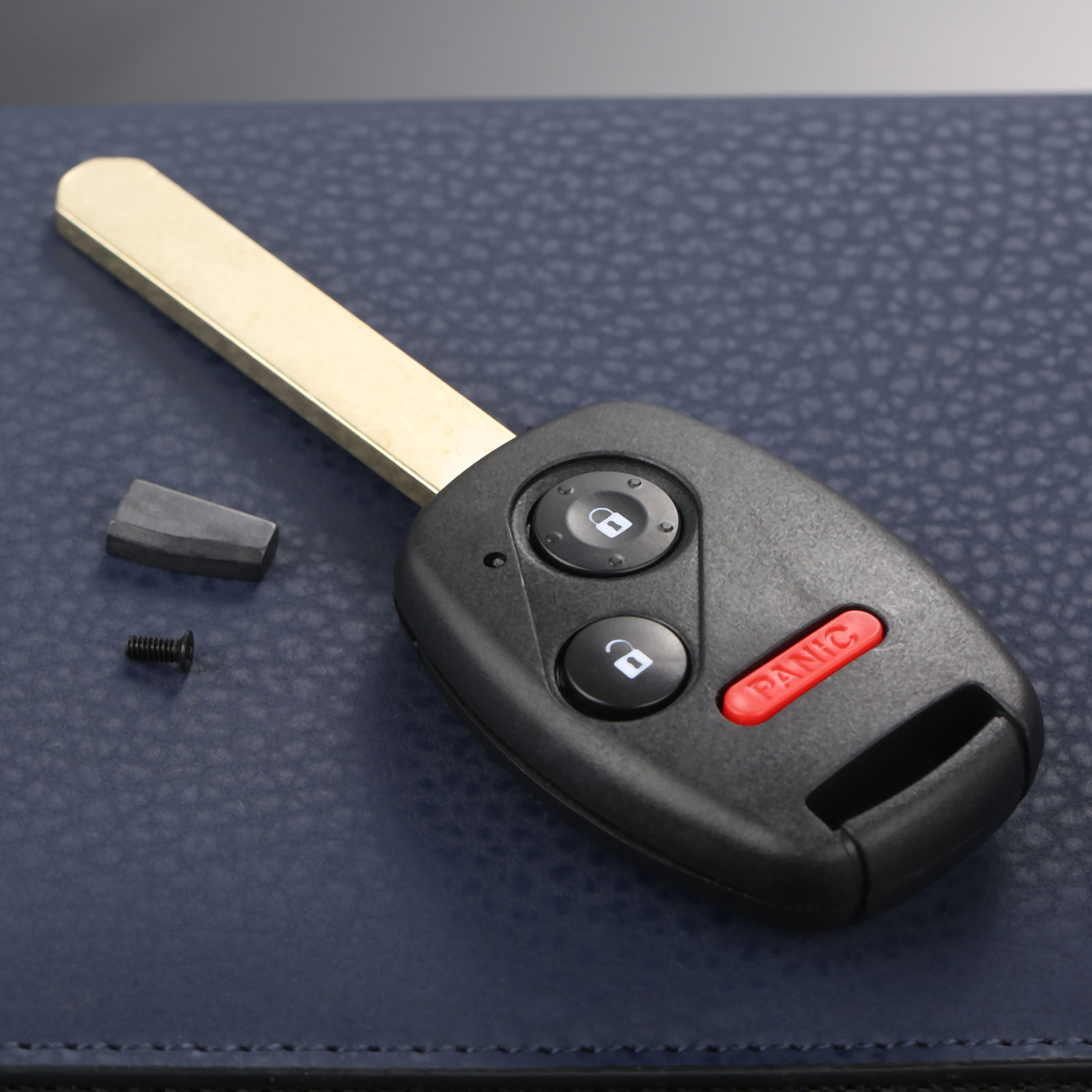 1x New Replacement Keyless Entry Remote Key Fob For Honda Fit Odyssey Ridgeline