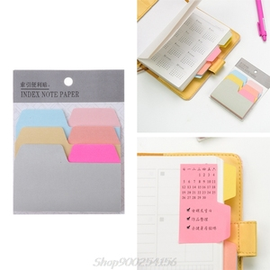 90 Sheets Index Note Paper Sticky Notes Memo Pad Office School Supplies Au03 20 Dropship