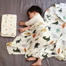 Муслиновое одеяло для новорожденных из бамбука и хлопка