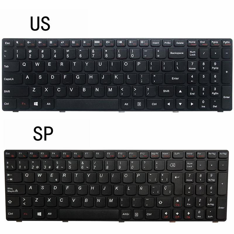NEW US/SP LAPTOP KEYBOARD FOR Lenovo G510 G505 G700 G500 G710