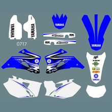 for YAMAHA WR250F 2007-2013 WR450F 2007-2011 Full Graphics Decals Stickers Custom Number Name Glossy Bright Waterproof