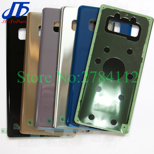 """Image 2 - 10Pcs 6.3"""" Back Glass Replacement For Samsung Galaxy Note8 Note 8 N950 Battery Cover Rear Door Housing Case 6 Colour + Sticker"""