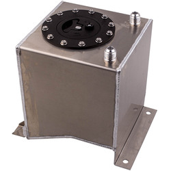Top uniwersalny polerowany lekka aluminiowa 10L/2.5 galonów paliwa zbiornik