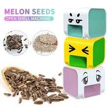 Semente de melão descascador automático máquina de descascamento girassol semente de melão preguiçoso artefato abridor nutcracker acessórios cozinha do agregado familiar