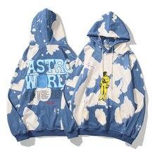 Tie Dye Stranger Things bluza mężczyźni i kobiety chcą, żebyś tu był wyszywane litery bluzy z kapturem Oversize Hoody