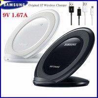 Original Samsung A9 Pro Schnelle Drahtlose Ladegerät 15W Schnell Ladung 9V/1,67 A Micro USB Port Kabel für Galaxy S7 Rand A02S Hinweis 4 M30