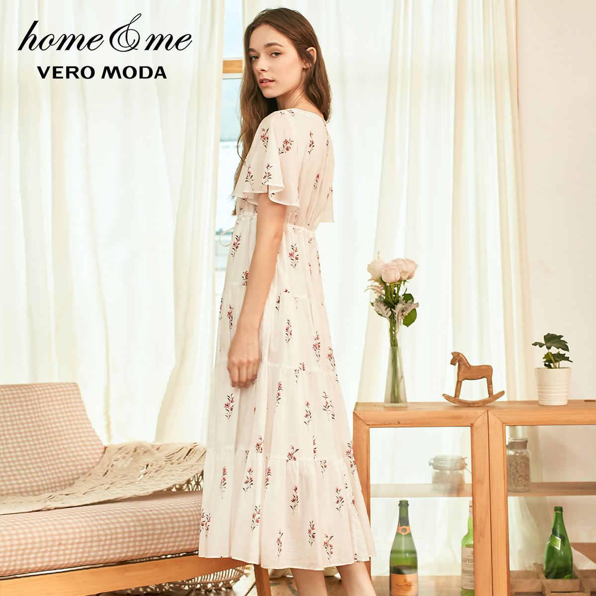 Vero Moda وصل حديثاً زهري 100% قطن فستان سهرة Homewear فستان | 31917B507