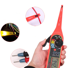 Power Electrical Multi-function Auto Circuit Tester Multimeter Lamp Car Repair Automotive 0V-380V( Screen)