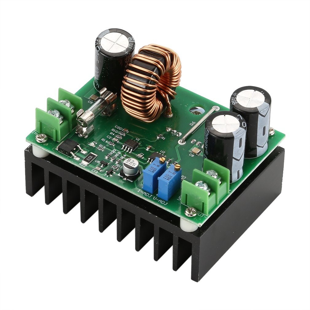 600w600W DC-DC Boost Converter 10V-60V To 12V-80V Step-up Power Supply Module