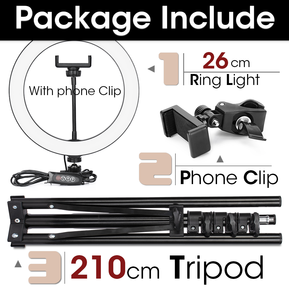 26cm and 210cmTripod
