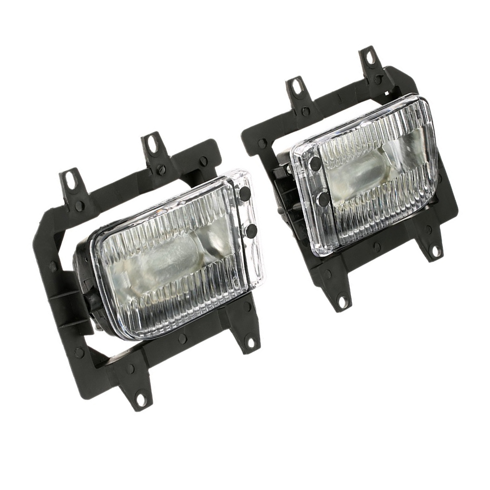 2pcs Car Front Bumper Clear Fog Lights Lamp For <font><b>BMW</b></font> <font><b>E30</b></font> <font><b>318i</b></font> 320 325i 1982-1994 63171385945 Car Light image