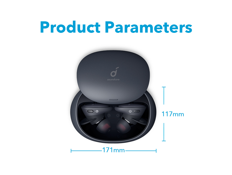 Anker Soundcore Liberty 2 Pro TWS Bluetooth True Wireless Earphones with Studio Performance, 8h Playtime, HearID Personalized EQ