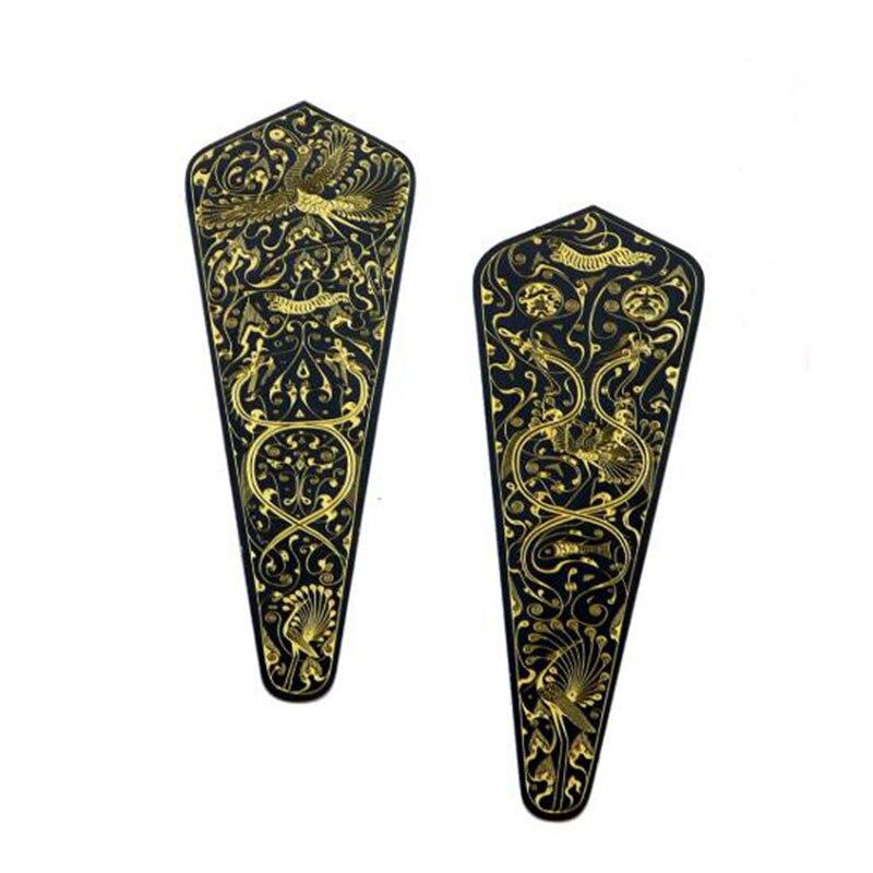 China's Han Dynasty Haidun Hou Danglu Pure Copper Metal Bookmark Creative Bronze Gold Gift Box