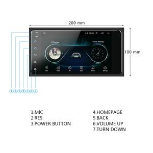 Image 5 - Podofo 2 din Android 8.1 Radio GPS Car Multimedia Player 2Din universale per Toyota VIOS CROWN CAMRY HIACE PREVIA COROLLA RAV4