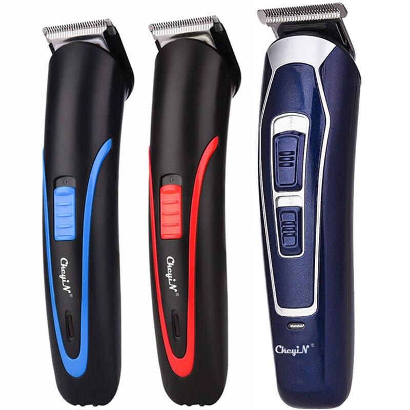 Аккумуляторная бритва CkeyiN для мужчин, устройство для стрижки волос с низким уровнем шума, Беспроводная Машинка для стрижки волос